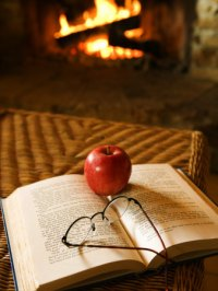 openbook glasses apple fire