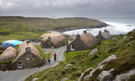 A scene from the Isle of Lewis