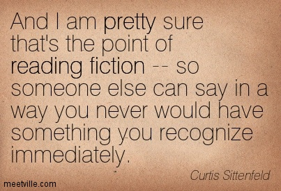 Curtis Sittenfeld quote
