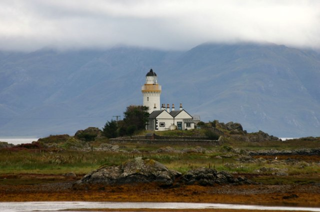 Scottish lighthouse cottage