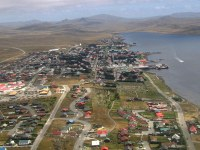 Aerial photo of Stanley