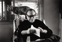 Bukowski and cat