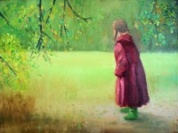 Girl In A Red Coat - 20101029_10