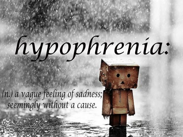 hypophrenia