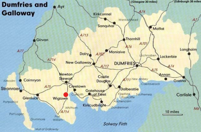 dumfries-and-galloway-road-map
