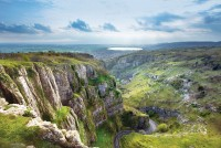 Cheddar Gorge in the Mendip Hills