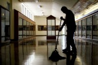 School-janitor