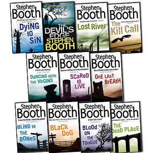 Stephen Booth's Ben Cooper and Diane Fry police procedural mysteries