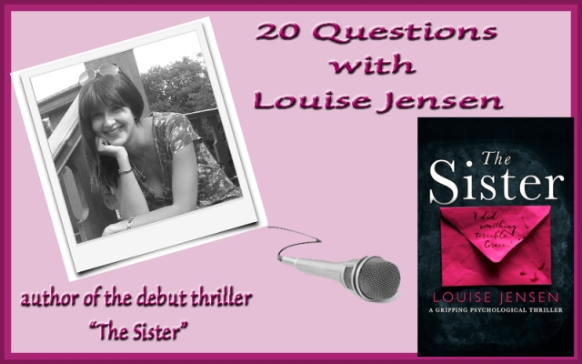Louise Jensen interview graphic