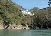 this is how I imagined Speedwell House would look - overlooking the River Dart.