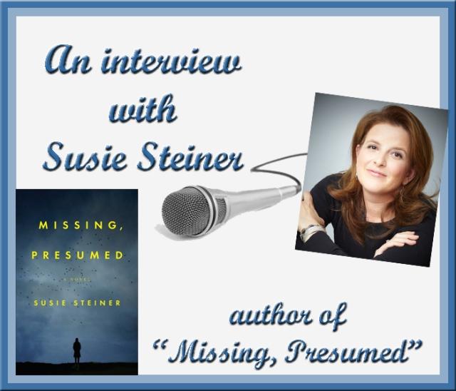 Susie Steiner interview graphic
