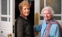 Ruth Rendell with P.D. James