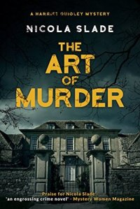 """The art of murder"" by Nicola Slade was FREE on Amazon.ca"
