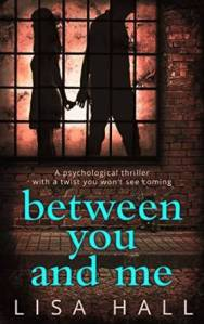 """Between you and me"" by Lisa Hall was on sale for $ .99 on Amazon.ca"
