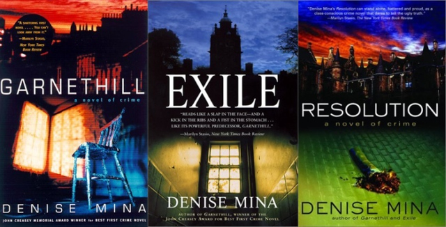 Garnethill trilogy by Denise Mina