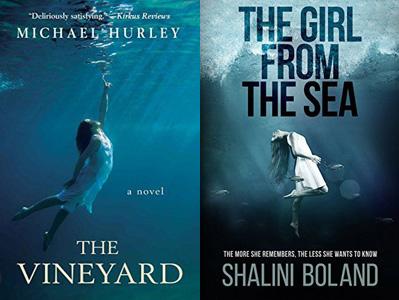women in similar position underwater