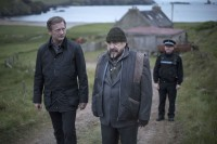 a scene from the Shetland TV adaptations of Ann Cleeves' novels