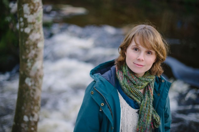 Picture By Jim Wileman - 02/02/2015 Author Lucy Wood, pictured near Fingle Bridge, Dartmoor, Devon.