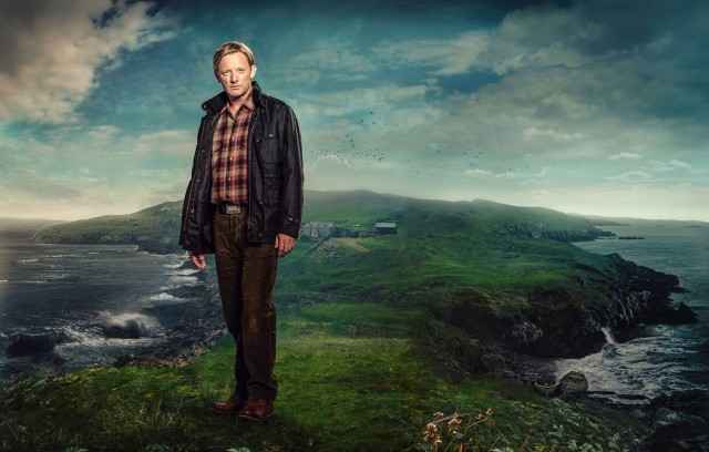 Douglas Henshall in his role as Jimmy Perez. Photographer: Mark Harrison