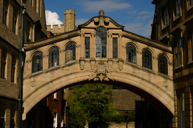 """Bridge of Sighs"", Oxford, England"