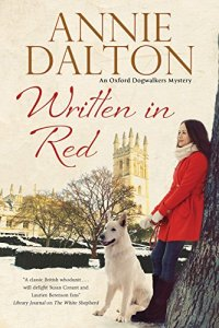 """Written in Red"" the 2nd Annie Hopkins mystery"