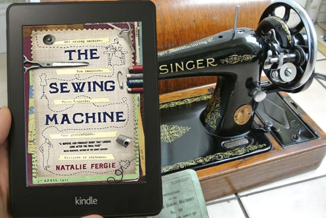 Image result for natalie fergie  sewing machine f